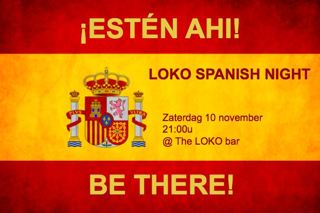 Kom naar Loko Spanish Night!