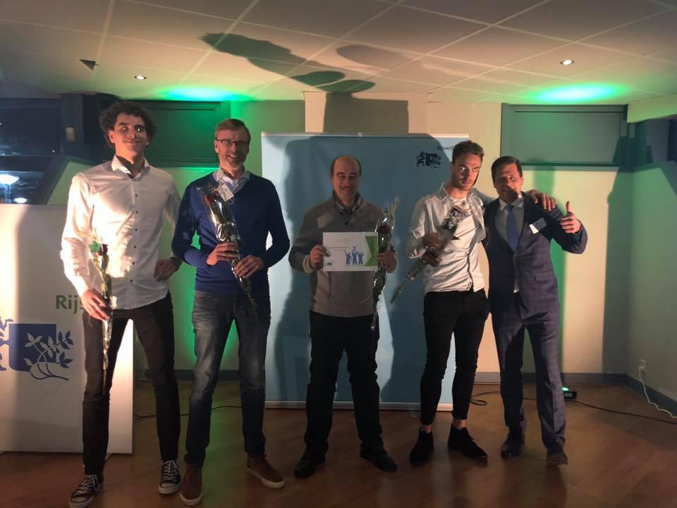 Heren 1 wint Sportprijs
